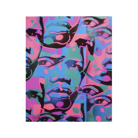 Tribal Abstract Print Wall Art By Abstract Graffiti