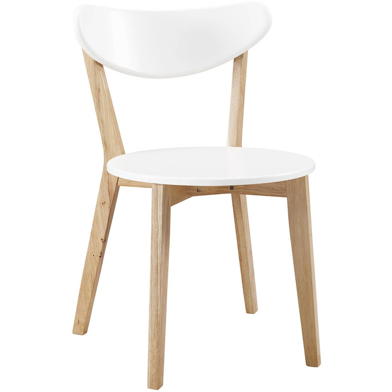 walker edison retro modern wood dining chairs set of 2 walmart com