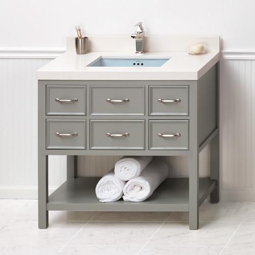 Ronbow Newcastle 36'' Single Bathroom Vanity Set