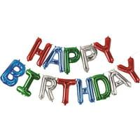 """13"""" Happy Birthday Balloon Kit, 13 ct"""