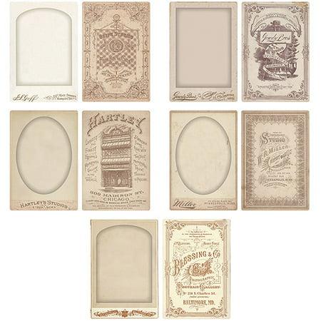 Idea-Ology Cabinet Card Frames, 5/pkg, 4
