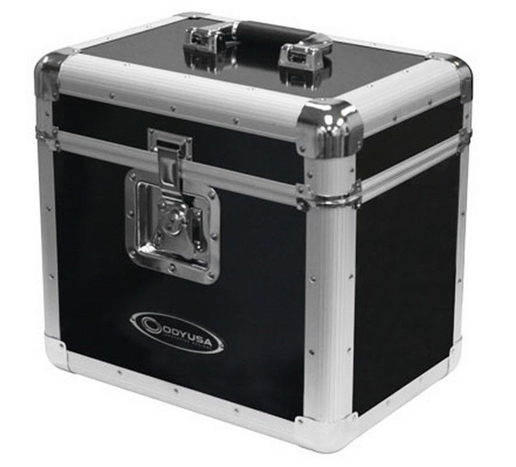 "New! Odyssey KLP1-BLACK KROM for 70 12"" LP Vinyl Records Utility Transport Case by Odyssey"