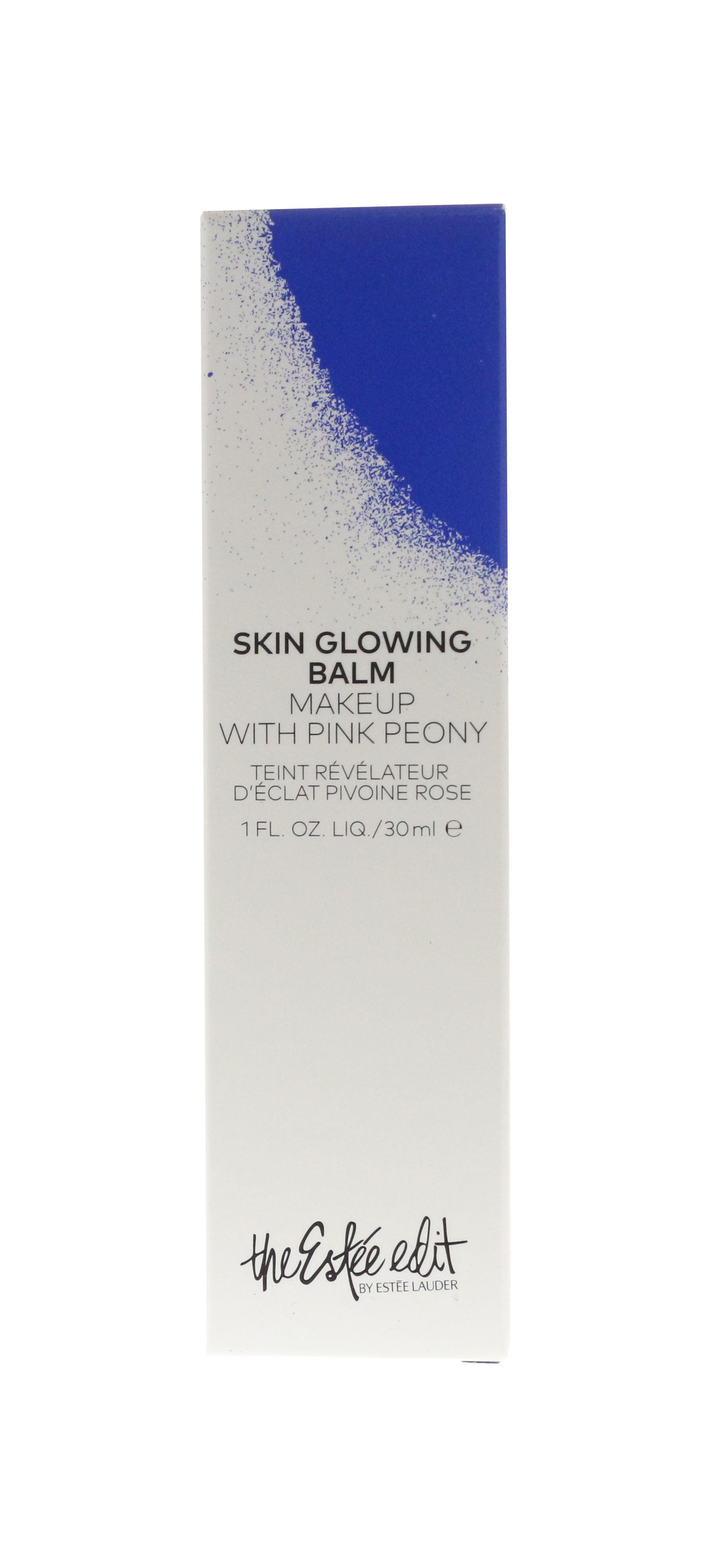 The Estee Edit Skin Glowing Balm Makeup With Pink Peony 1.0Oz New In Box Bremenn Research Labs Dark Spot Eraser-1 oz