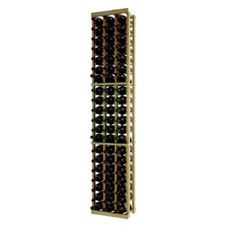 Wine Cellar Innovation Premium Redwood Traditional Series 3 Column Individual Wine Rack