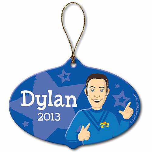 Personalized The Wiggles Anthony Ornament