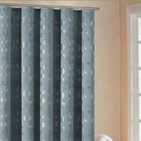 Dr International Houston Reversible Shower Curtain In Slate Blue