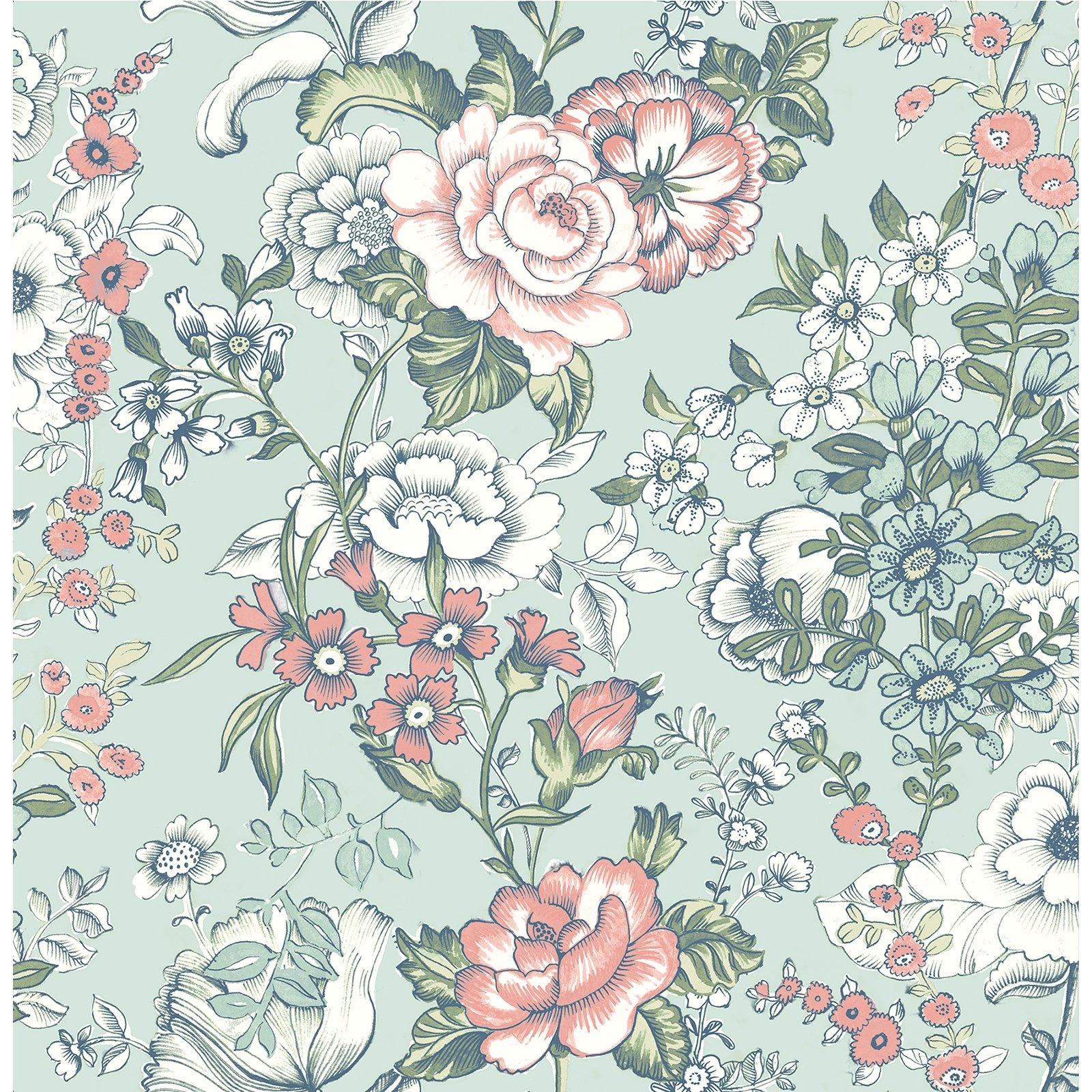 Image of A - Street Prints Kismet Ainsley Boho Floral Wallpaper