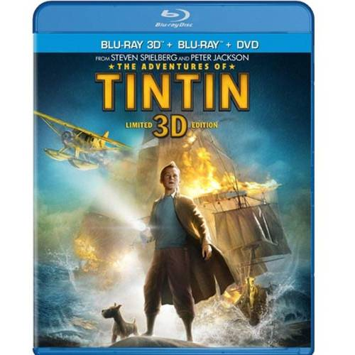 The Adventures Of Tintin (Limited Edition) (3D Blu-ray   Blu-ray   DVD   Digital HD) (With INSTAWATCH)