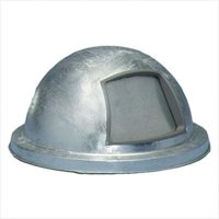 Witt Industries 3434G Dome top drum lid- hot dip galvanized