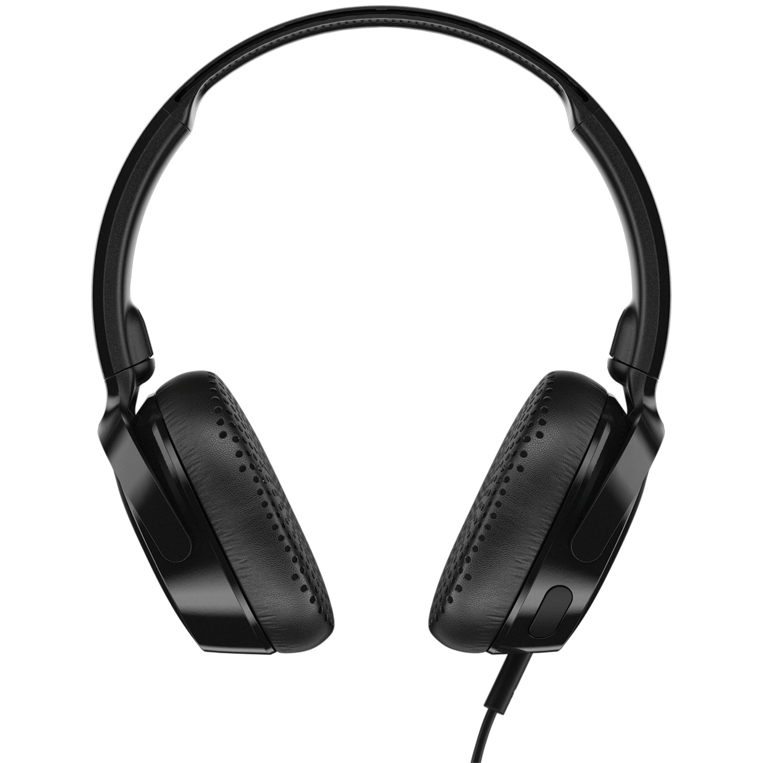 Skullcandy S5PXY-L003 Riff On-Ear Wired Headphones With Microphone (Black)