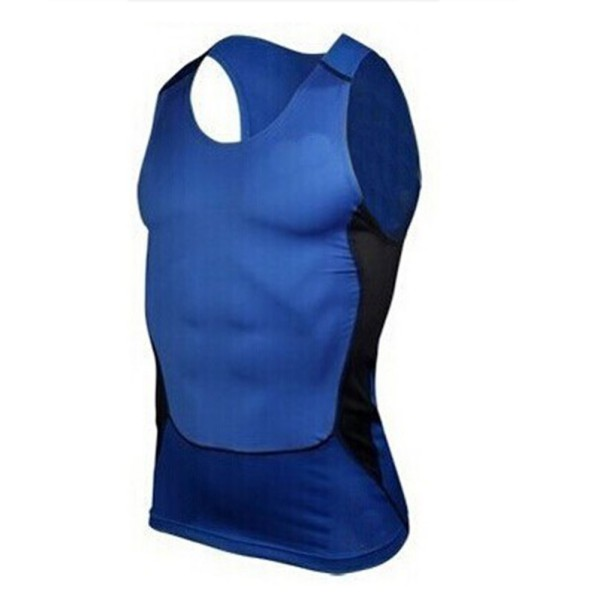Mens Compression Sleeveless Base Layer Tank Tops Vest Sports Gym Fitness Wear
