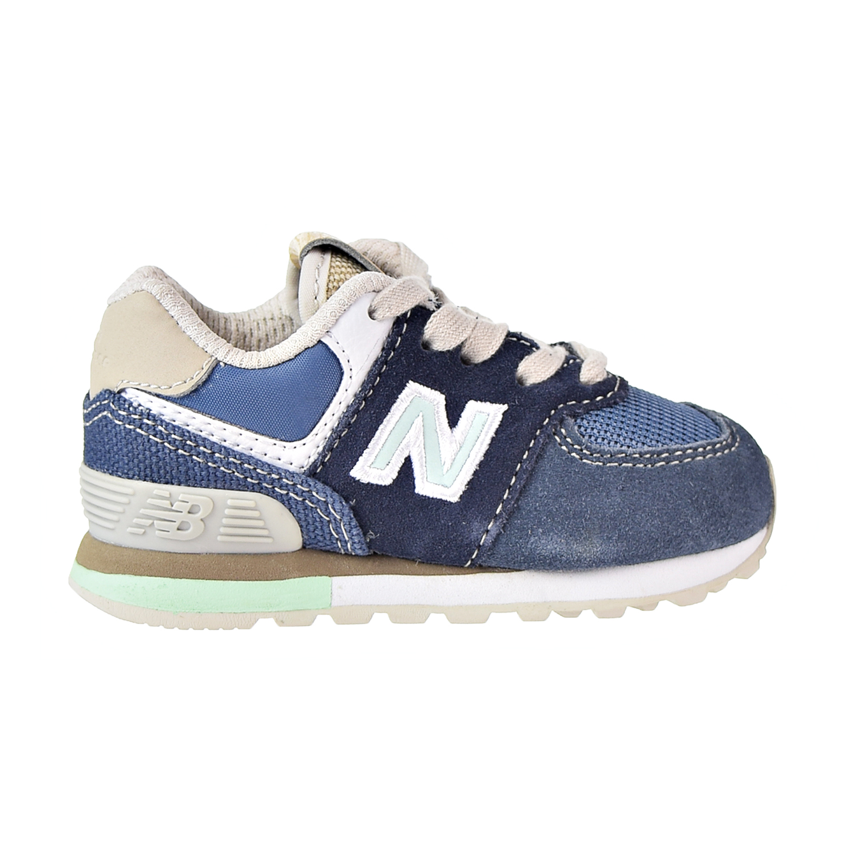 new balance 574 blu navy 41