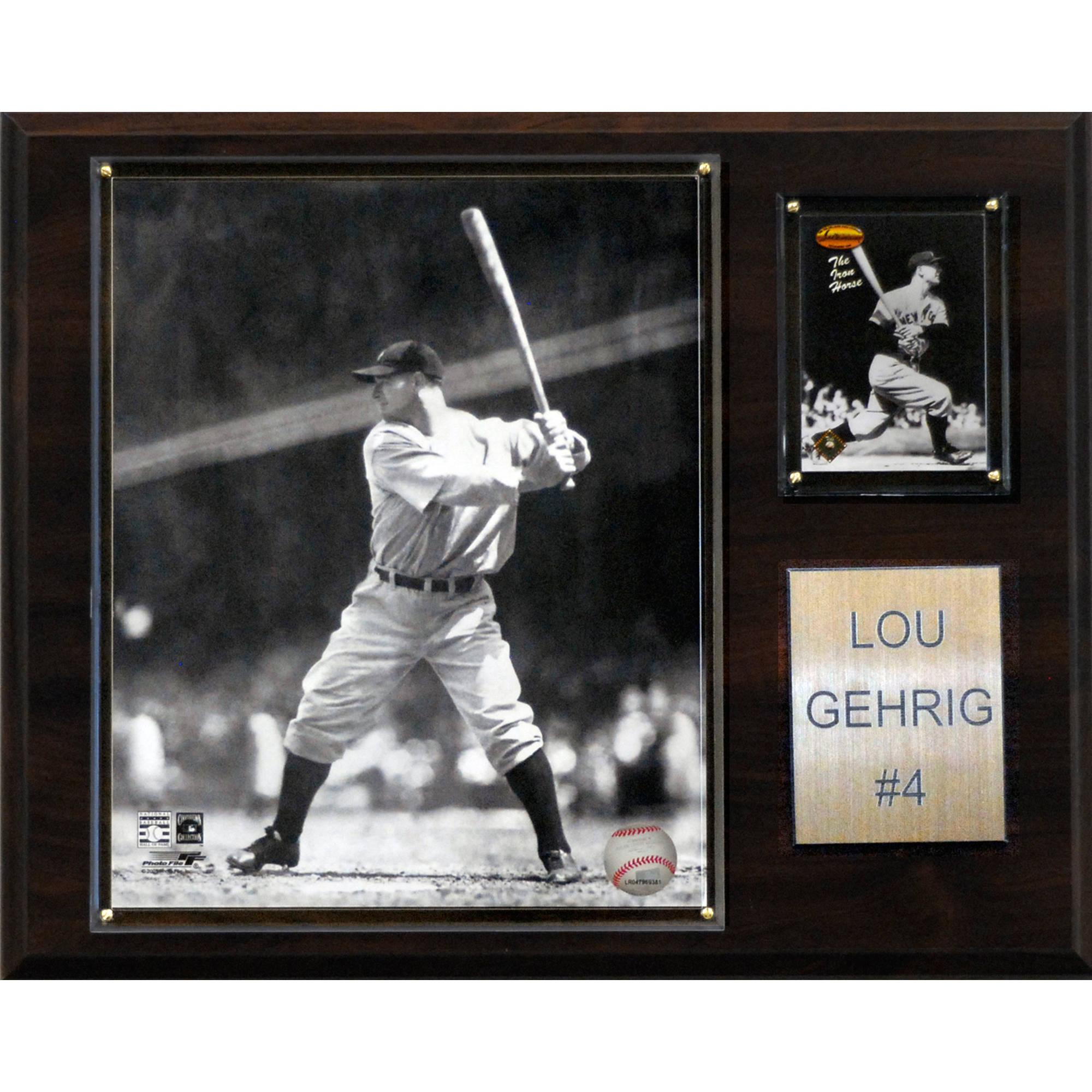 C&I Collectables MLB 12x15 Lou Gehrig New York Yankees Player Plaque