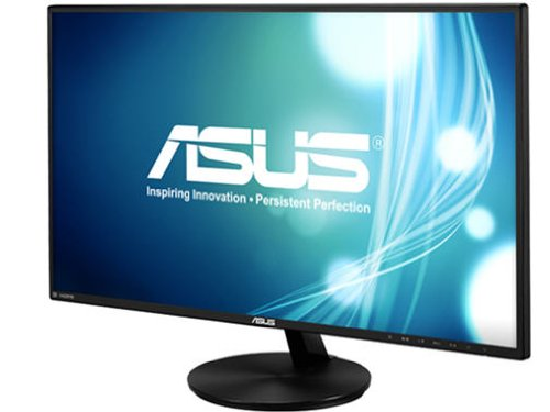 ASUS VC279H Slim Bezel Black 27  5ms (GTG) HDMI Widescreen LED Backlight LCD Monitor IPS , 80,000,000:1 Built-in Speaker
