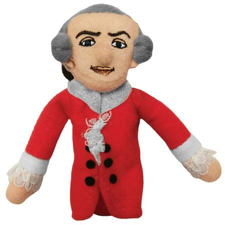 Wolfgang Finger Pockets - Wolfgang Amadeus Mozart Finger Puppet and Refrigerator Magnet