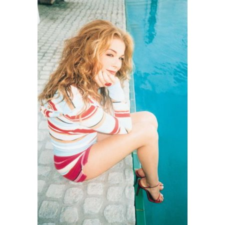 Leann Rimes poster Poolside Shorts poster Metal Sign 8inx 12in](Poolside Decorations)