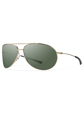 a1ab002cee76 Product Image SMITH ROCKFORD SUNGLASSES WITH CARBONIC POLARIZED LENSES  MATTE GOLD FRAME