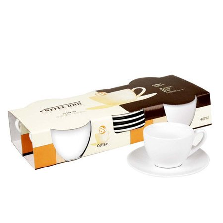 Konitz Coffee Bar 7 oz. Cup and Saucer