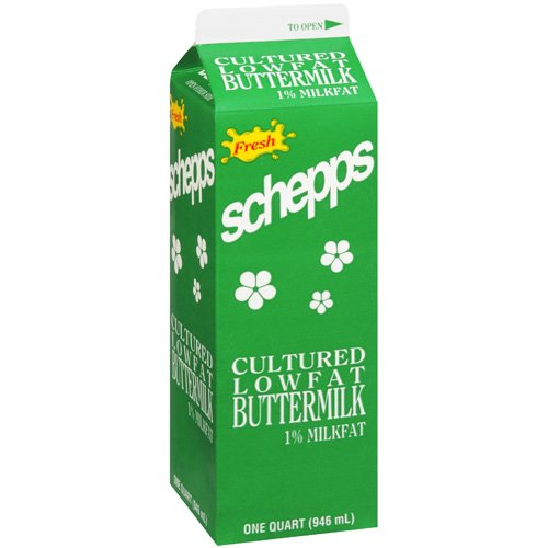 Schepps Fresh Cultured Lowfat Buttermilk, 1 qt