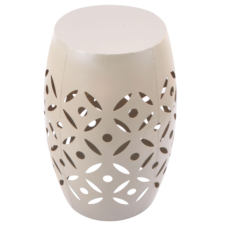 Mainstays Atmore Cutout Ceramic Garden Stool