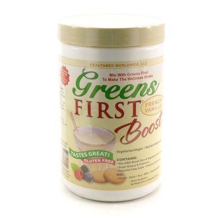 First Green - Greens First Boost Vanilla By Doctors For Nutrition - 10.5 Ounces