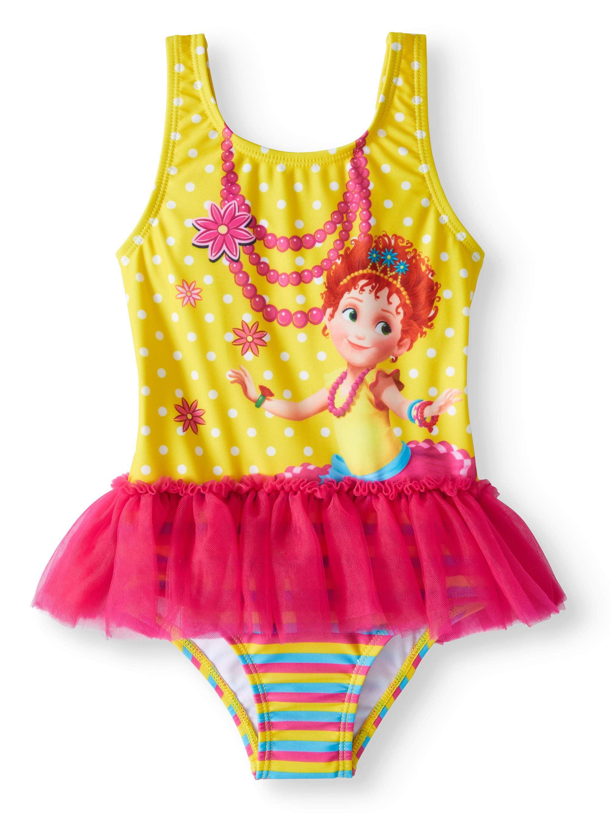 Toddler Girls' Fancy Nancy Tutu One Piece Swimsuit