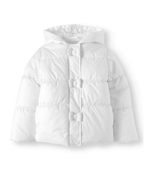 5eabcee48e788 Product Image Bow Hooded Foiled Puffer Coat (Little Girls)