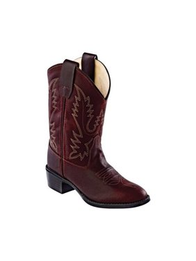 Children's Old West Round Toe Western Cowboy Boot - Child