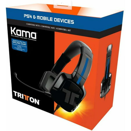 Tritton Kama Stereo Headset for PlayStation 4, (Best Tritton Headset For Ps4)