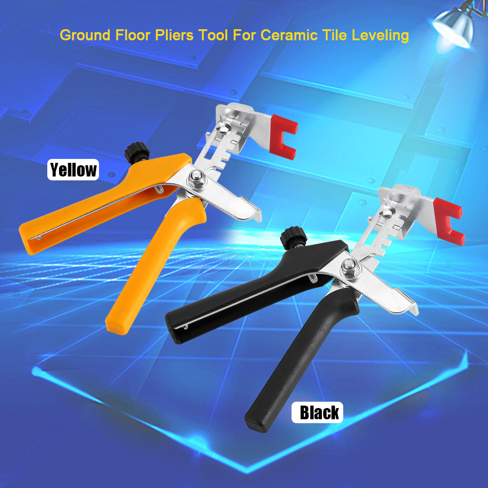 Yosoo 1pc Floor Pliers Tiling Locator Tile Leveling System Ceramic Tiles Installation Tool, Tile Leveling Pliers, Tile Spacer Pliers