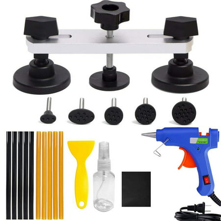 Auto Body Paintless Dent Removal Tools Kit Pops a Dent Puller Bridge Dent Lifter For Auto Body Hail Damage And Door Dings