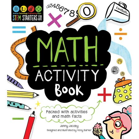 STEM Starters for Kids Math Activity Book : Packed with Activities and Math Facts - Halloween Math Fact Practice