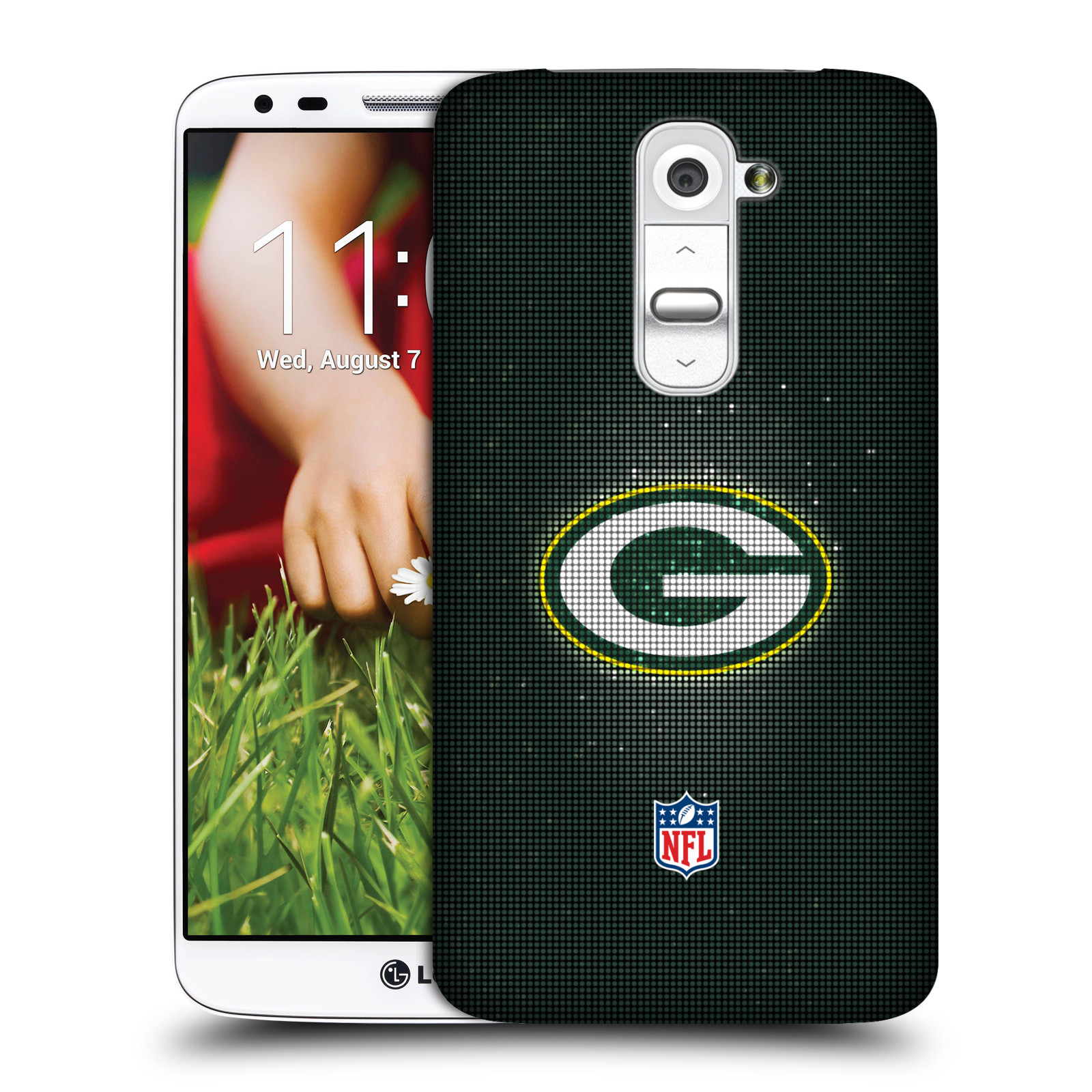 OFFICIAL NFL 2017/18 GREEN BAY PACKERS HARD BACK CASE FOR LG PHONES 2