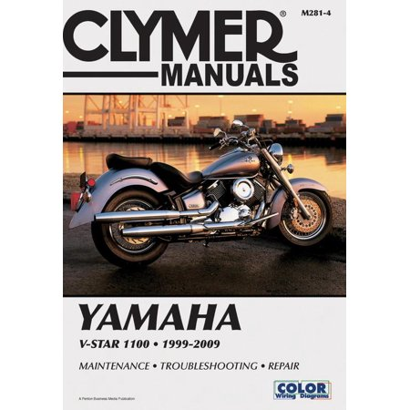 - Clymer Yamaha V-Star 1100 1999-2009