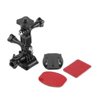 Fugacal Durable 11 in 1 Action Camera Accessories Kit Tripod Adapter Quick Release Buckle For GoPro, Tripod Accessory, Buckle Mount