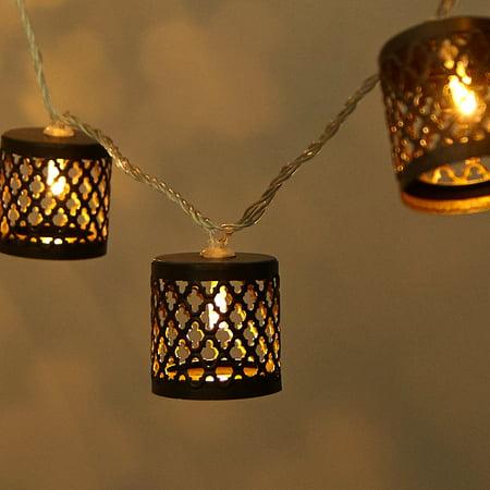 Mainstays Die Cut Lanterns String Lights ()