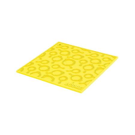 Lodge 7 Inch Square Silicone Skillet Pattern Trivet