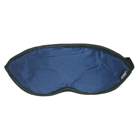 Lewis N. Clark Comfort Eye Mask With Adjustable Straps Blocks Out All Light (Black N White Mask)