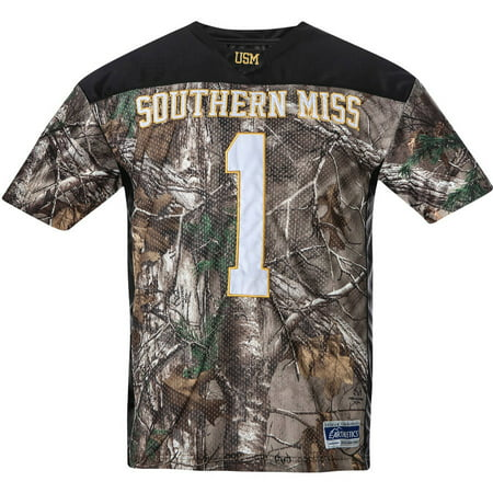 NCAA Southern Mississippi Big Men s Realtree Game Day Jersey 79322a43f