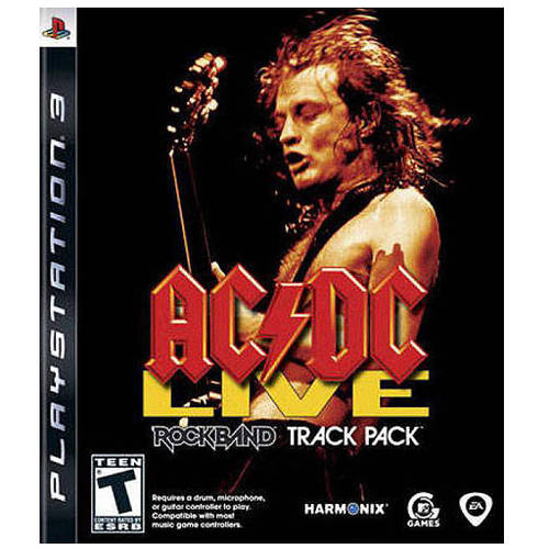 Rock Band - Acdc Live Track Pack (PS3) - Pre-Owned