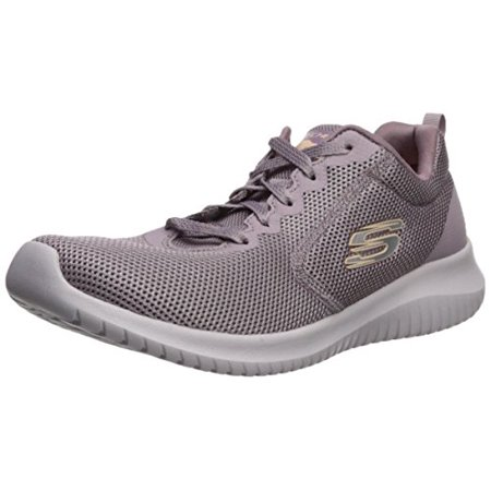 Skechers Sport Women's Ultra Flex Free Spirit Sneaker,Purple,8 M US