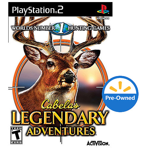 Cabela'S Legendary Adventures (PS2) - Pre-Owned