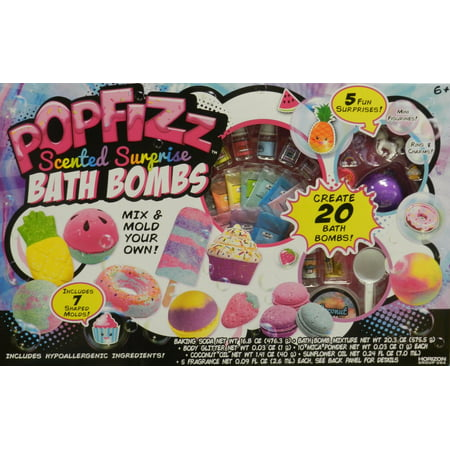 Harizon Popfizz Scented Surprise Bath Bomb Mix & Mold Your