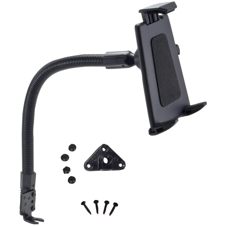 "Arkon TABPB088 18"" Flexible Aluminum Seat Rail or Floor Mount for Tablets"