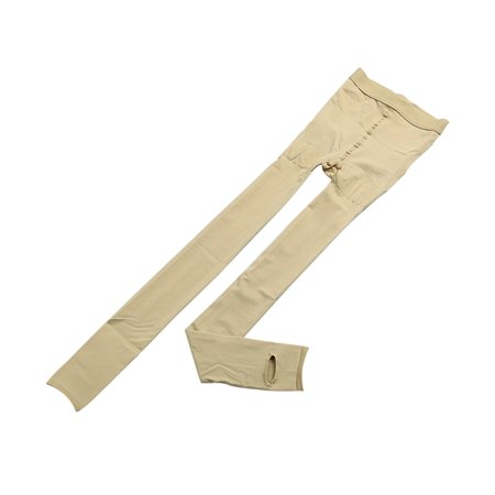 Women Push Up Slimming Pantyhose Tights Thick Stirrup Leggings Beige XL - image 6 of 6