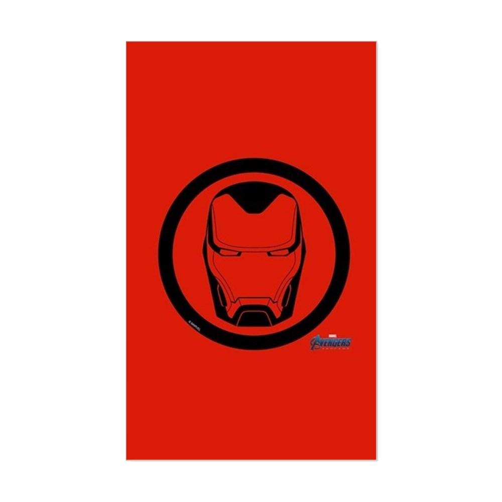 CafePress - Iron Man Symbol - Rectangle Bumper Sticker Car Decal