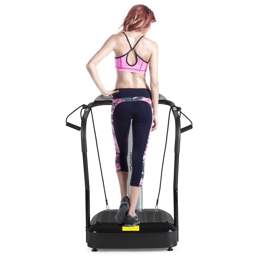 TOMSHOO 2000W Vibration Platform Slim Full Body Fitness M...