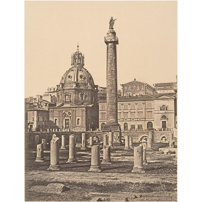 Public Domain Images MET288407 Foro E Colonna Di Trajano Poster Print by Ne Constant, French Active Italy 1848 55, 18 x 24 - image 1 of 1