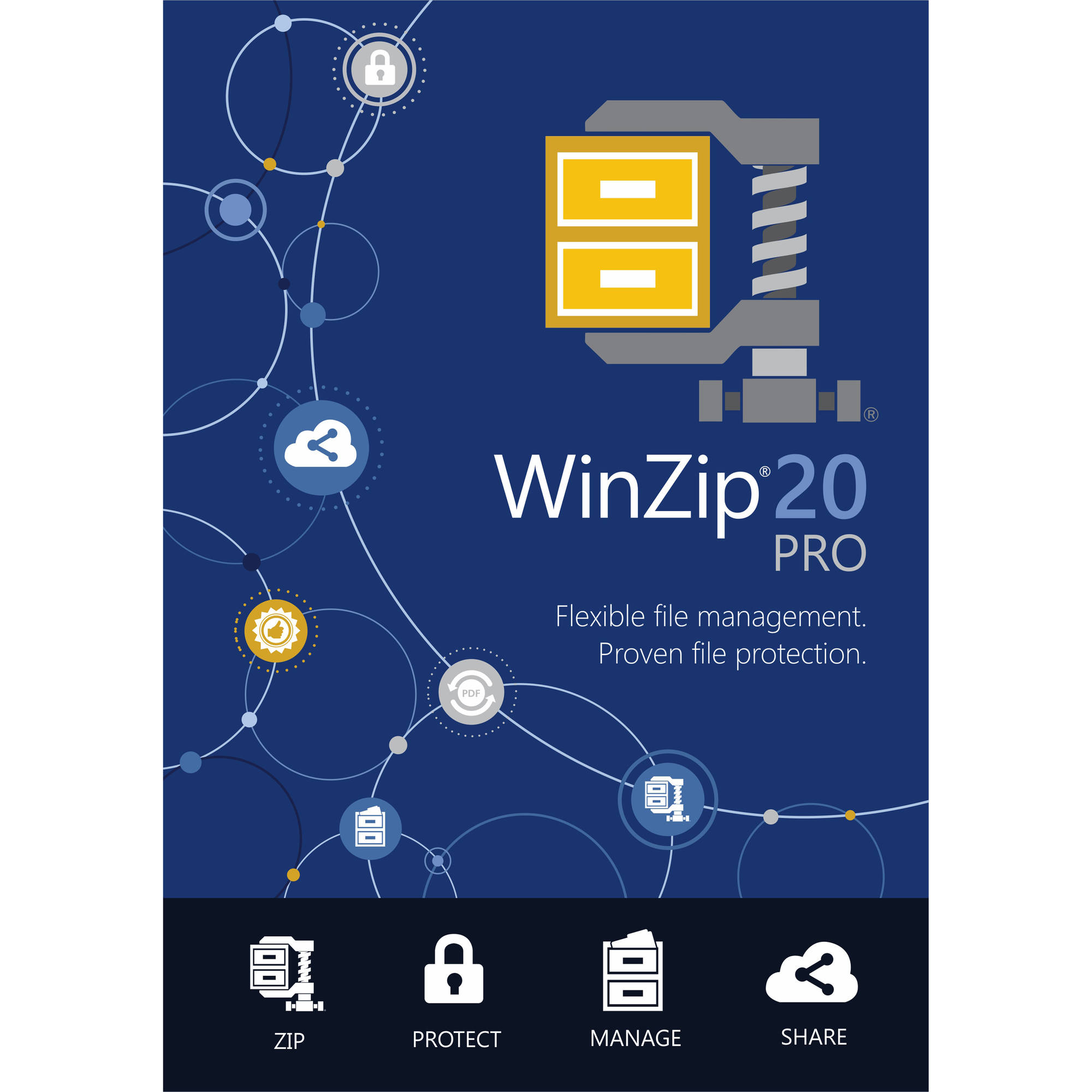 Corel ESDWZ20PROML WinZip 20 Pro, Single User (Email Delivery)