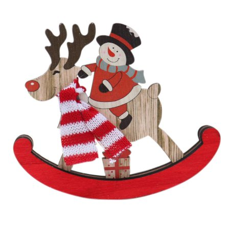 Add A Little Hygge To Your Scandinavian Christmas Tree Decorations This Year With Adorable Nordic Style Wooden Rocking Horse Each Ornament Is